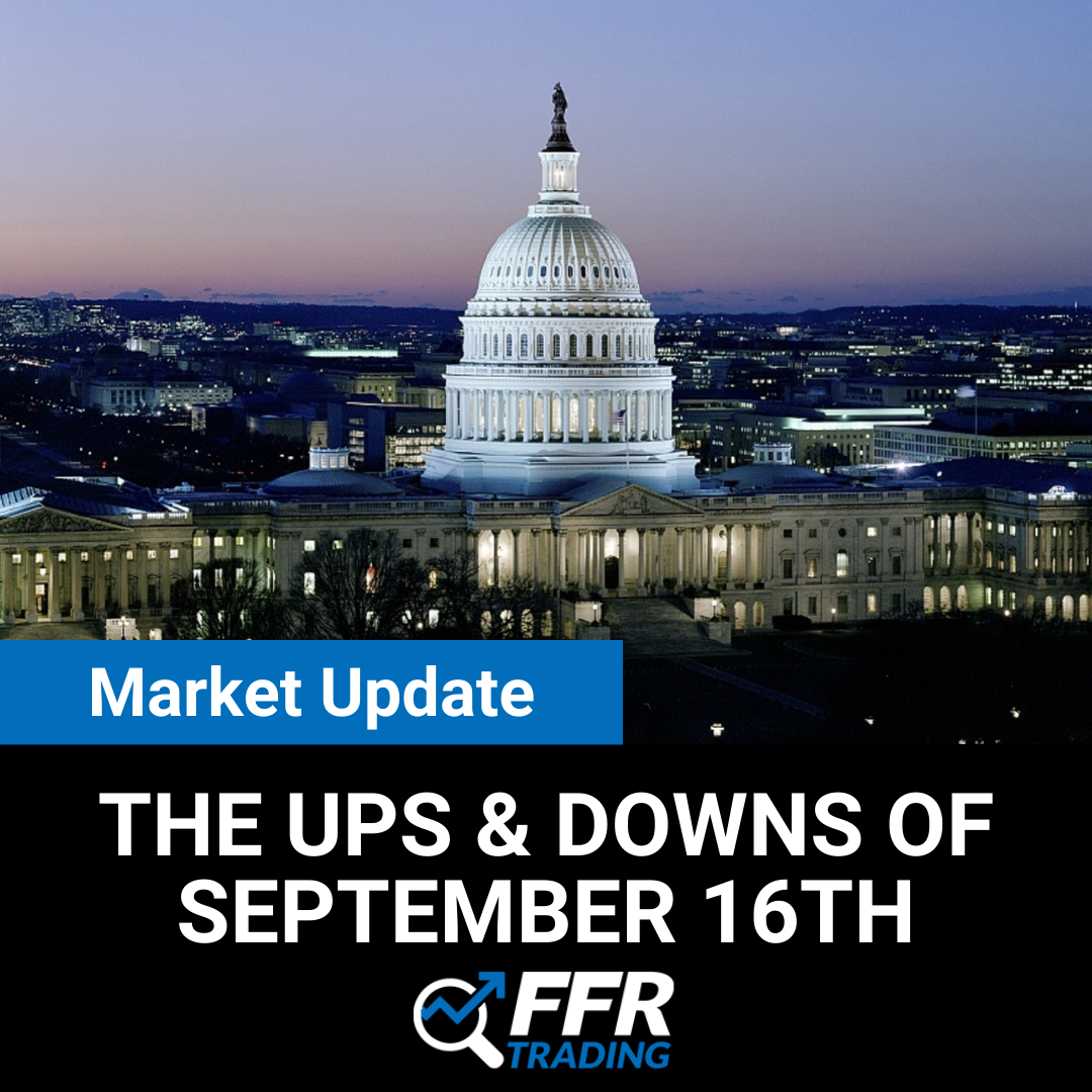 Market Update: The Ups & downs of September 16th