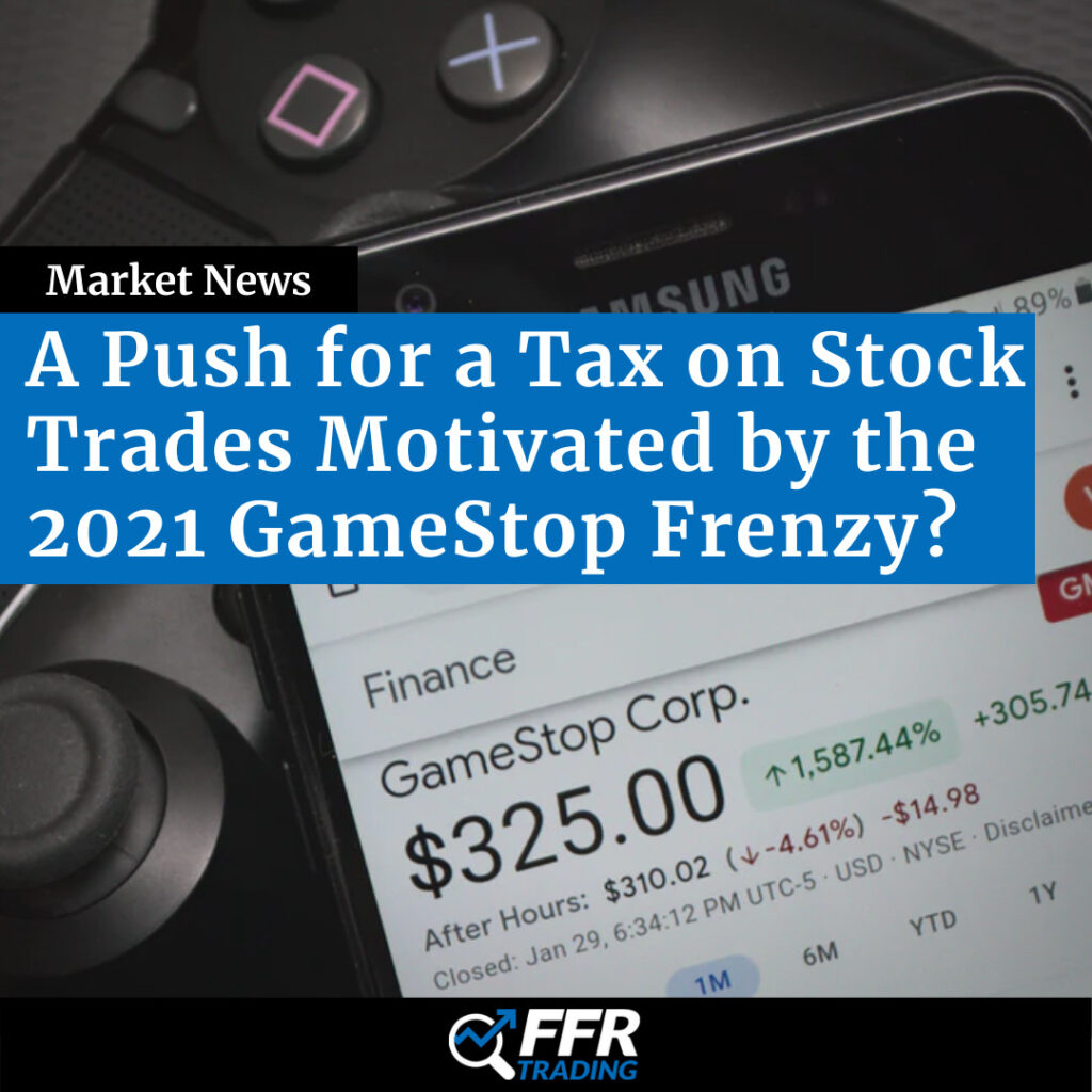 A Push for a Tax on Stock Trades