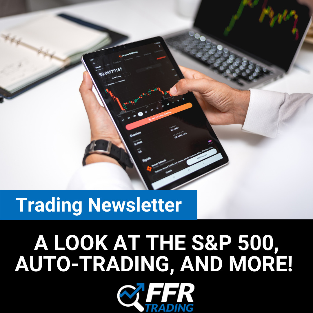 Trading Newsletter S&P 500 and autos-trade